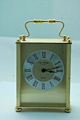 Wm.widdop Carriage Clock,Boxed,Excellent.