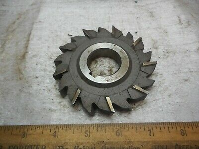 "NIAGARA 4/"" x 9//16/"" x 1 1//4/"" STAGGERED TOOTH Side Milling Cutter NEW in EX CON"