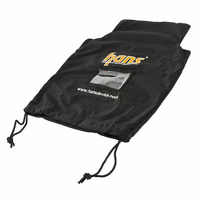 Simpson HANS / FHR Device Draw String Bag In Black Race / Rally / Motorsport