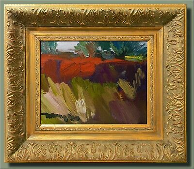Jose Trujillo Art Framed Oil Canvas Painting Impressionist Minimalist Landscape