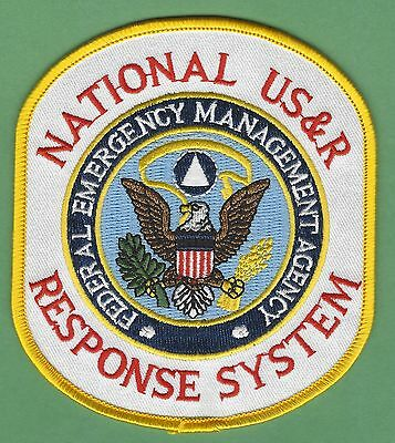 Fema National Urban Search & Rescue Response System Usar Patch