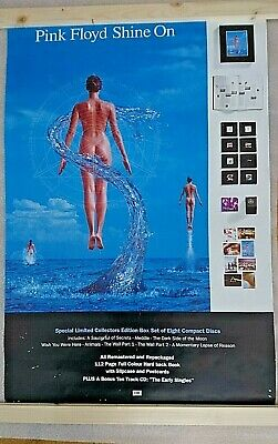 PINK FLOYD - SHINE ON original EMI promo poster. 1992. RARE