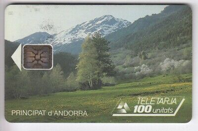 Andorre Telecarte / Phonecard .. 100U And13A Sc5 Vallee Ge.00416 Chip/Puce C.10€