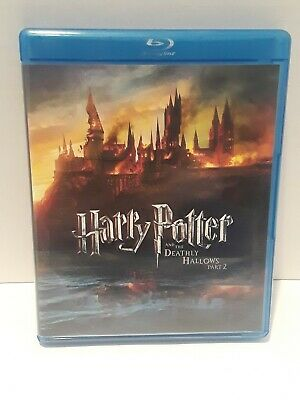Harry Potter and the Deathly Hallows: Part II (Blu-ray Disc, 2011, No Digital co