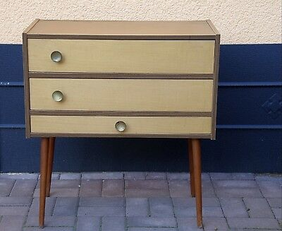 Sewing Box Sewing Table Sewing Cabinet 70s Vintage 62 x 56 x 29 cm Reich