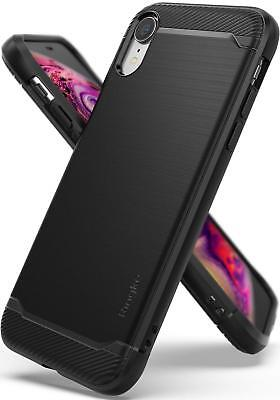 Ringke Onyx Designed iPhone XR Case Cover Tough Rugged Mobile Phone Cover -Black