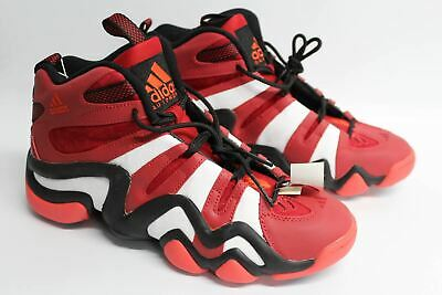 985325cfc177 ADIDAS CRAZY 8 G20784 Mens Red Leather High Top Trainers Shoes UK9.5 EU43  BNIB - EUR 106