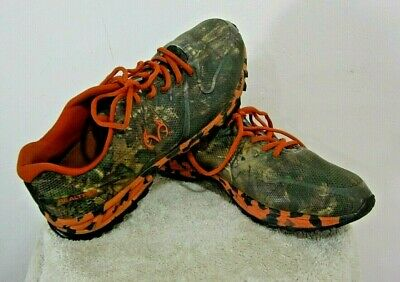 af93ab50f305d Realtree Outfitters Cobra Mens Hiking, Hunting Camo Shoes Green, Orange  Size 13