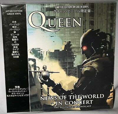 LP QUEEN News Of The World In Concert (Green Vinyl, CODA 2018) NEW MINT SEALED