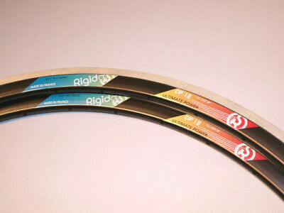 *NOS* Rigida DP18 Clincher Rims 32H (pair)