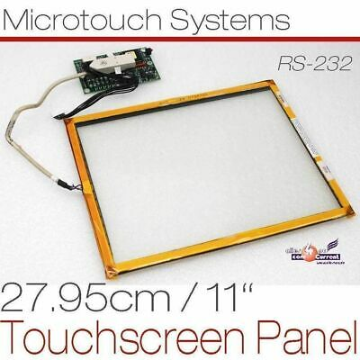 "26cm 10,4 "" Touch Screen Panel Microtouch Glassplate for Continuous Operation"