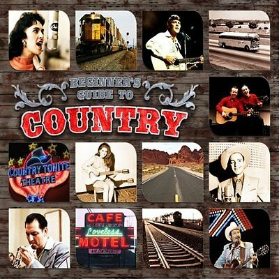 Beginner's Guide To Country 3-cd Sigillato / Nuovo Les Paolo Merle Travis