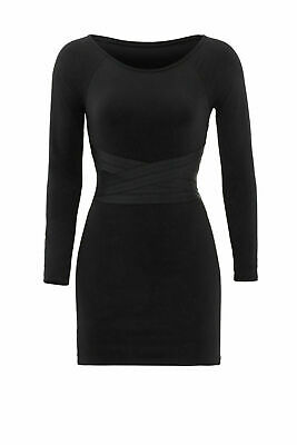 4537341b Elizabeth and James Black Womens Size Small S Mesh Inset Sheath Dress $365-  #602