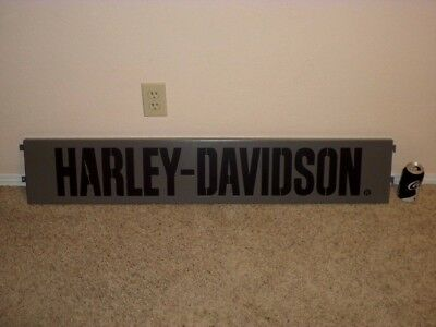 "Harley Davidson Motorcycle - Authorized Lic. Dealer [3-D] Metal 44.5"" Wall Sign"