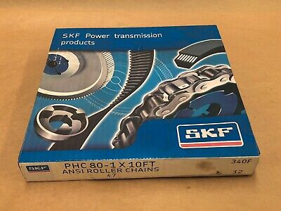 SKF Ansi Roller Chains PHC 80-1 10FT