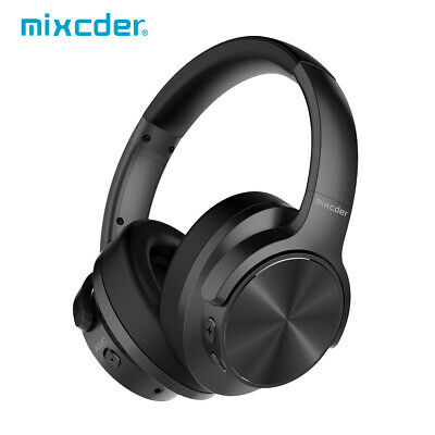 Mixcder E9 Bluetooth 4.0 Active Noise Cancelling Wireless Headphones Stereo Mic
