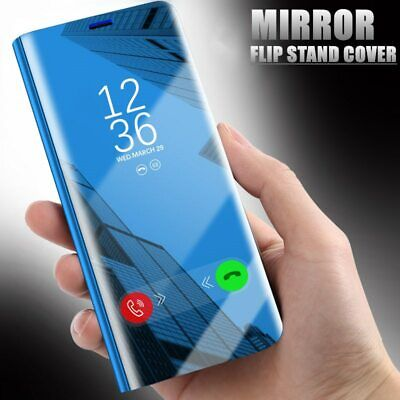 Luxury Clear View Mirror Touch Smart Case Flip Stand Cover for Huawei Nova 3/3i