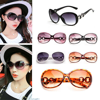 Women's Large Oversized Cool Eyewear Retro Vintage Fashion Sunglasses Glasses FT