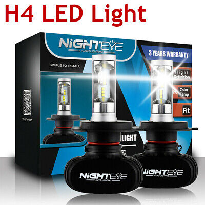 NOVSIGHT H4 HB2 Car LED Headlight Kit Conversion Bulb Hi-Lo Beam 6500K White