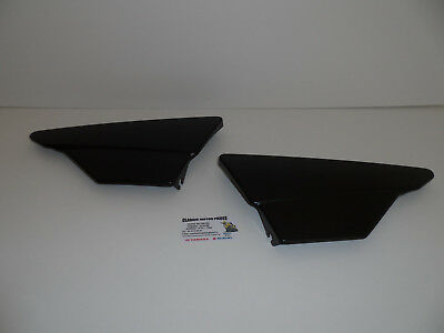 DT175MX 1979 à  1993 SIDE COVERS RIGHT AND LEFT BLACK