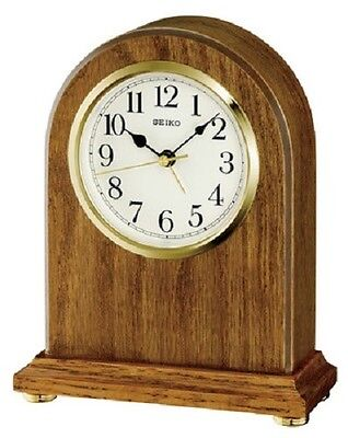 Seiko Wooden Mantle Clock QXE031B RRP £55.00 Our Price £49.50