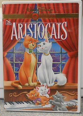 The Aristocats (DVD, 2000, Gold Collection) RARE DISNEY BRAND NEW W BUENA STAMP