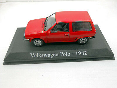 1/43 COCHE VOLKSWAGEN POLO 1982 VW IXO RBA 1/43 METAL MODEL CAR MINIATURA golf