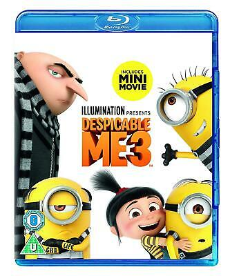 Despicable Me 3 Brand New Sealed Blu-ray