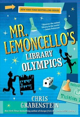 Mr. Lemoncello's Library Olympics by Chris Grabenstein (Paperback, 2017)