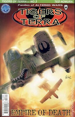 Tigers of Terra (2nd Series) #3 2000 VF Stock Image