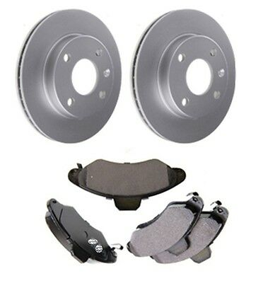 FRONT BRAKE DISCS AND PADS FOR FORD ESCORT RS2000 1//1975-8//1980