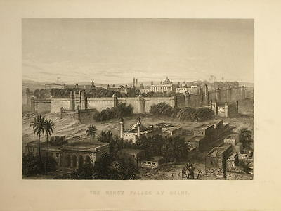 Capture of King of Delhi by Capt Hodson Indian Mutiny 1860 India 7x5 Inch Print