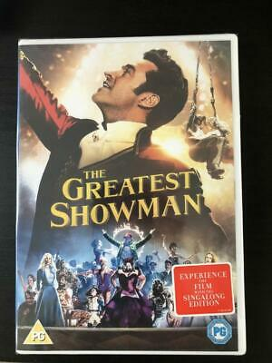The Greatest Showman DVD - Sing Along Edition Region 2 UK - Free P&P