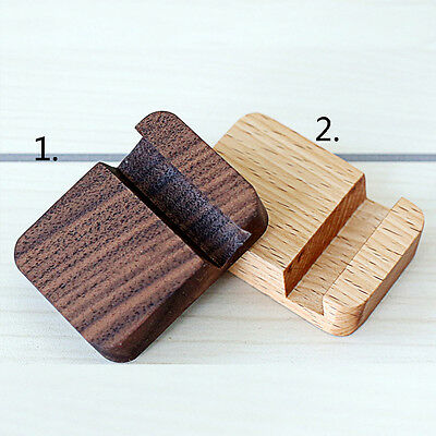Creative Universal Wooden Mobile Phone Holder Stands Portable Desk Stand