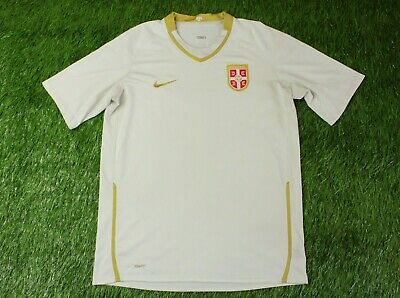 e974e9777 Serbia NATIONAL TEAM 2008 2010 FOOTBALL SHIRT JERSEY AWAY NIKE ORIGINAL  SIZE L