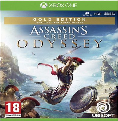 Assassins Creed Odyssey Gold Edition Xbox One Profile Offline (Read Desc)