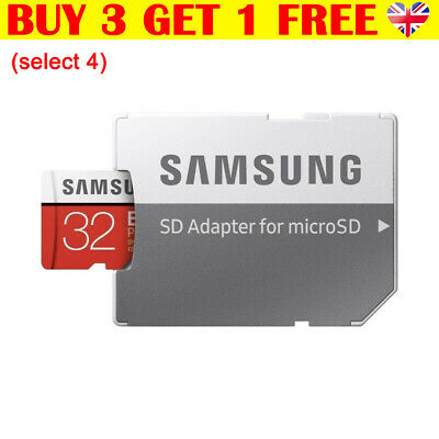 Samsung Memory 32GB EVO Plus Micro SD Card TF with Adapter