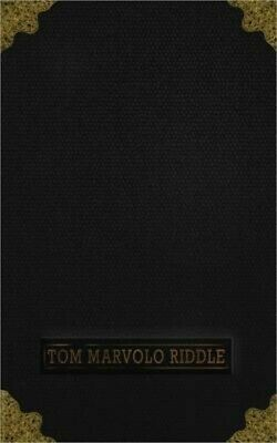 Tom Marvolo Riddle: Harry Potter - Horcrux - Tom Riddle Diary - Journal of Tom M