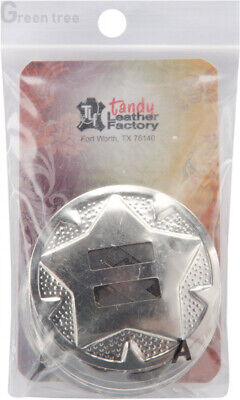 Tandy Leather Factory Nickel Conchos, Multi-Colour, 1.19 x 4.44 x 8.89 cm