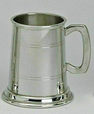 Pewter 1/2pt Traditional Lined Tankard