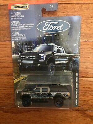 Matchbox FORD Series '17 Skyjacker Ford F-350 Super Duty Police Truck