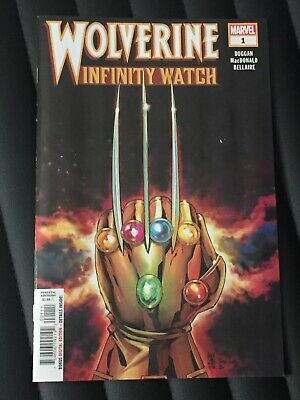Wolverine Infinity Watch Issue 1 First Print
