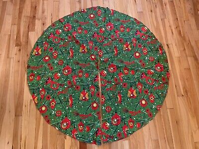 Mid Century Modern Christmas Tree Skirt.Collectibles Holiday Seasonal Christmas Modern 1946 90