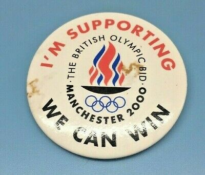 2000 Manchester British Olympic Bid Pin Sydney Great Britain 4 00 Picclick