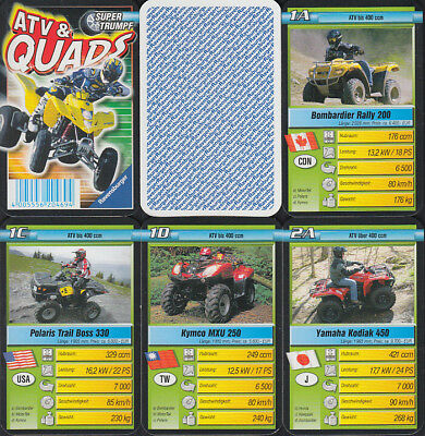 "Ravensburger ""ATV & Quads"" 2006 (S, Quartett-Nr. 204694) Z 1+"