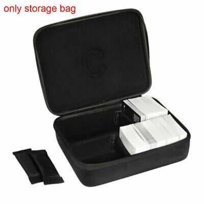 UK Large Travel Carry Storage EVA Hard Case For Cards Against Humanity Black