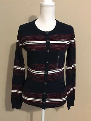 897c26bda Tommy Hilfiger Women's Cardigan size Small Button up Sweater NWT MSRP $79