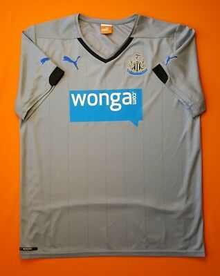 1744c5f0345 4.9 5 Newcastle United 2014 2015 Football Soccer Away Shirt Jersey Puma  Size L