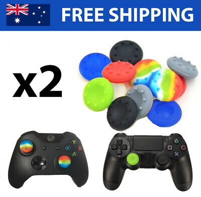 2x Controller Thumb Grips/Caps - Playstation 4, Xbox One, Switch, 360, PS4, PS3