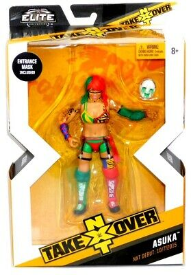 "WWE Mattel Elite NXT Takeover Series 2 Target Asuka 6"" Figure w Entrance Mask!"